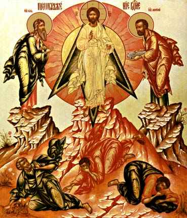 the icon The Transfiguration of Christ